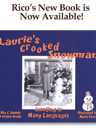 lauries crooked snowman